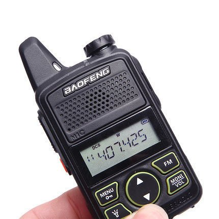 RADIOTELEFON BAOFENG BF-T1 MINI WALKIE TALKIE